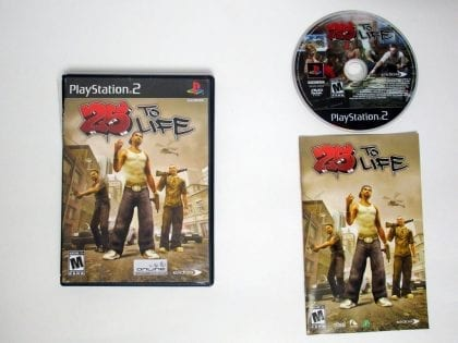 25 to Life game for Sony Playstation 2 PS2 -Complete