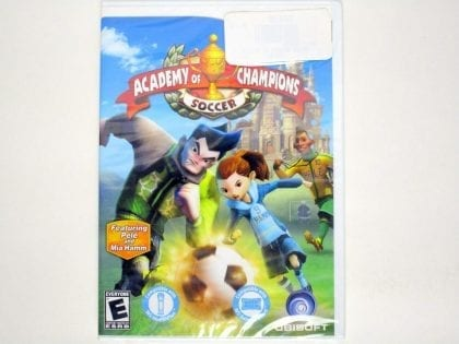 Academy of Champions Soccer game for Nintendo Wii - New