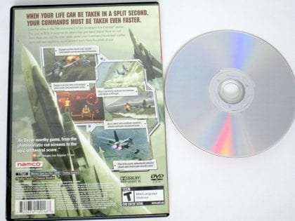 Ace Combat 5 Unsung War game for Playstation 2 | The Game Guy