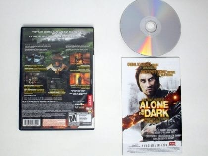Alone in the Dark game for Playstation 2 (Complete) | The Game Guy