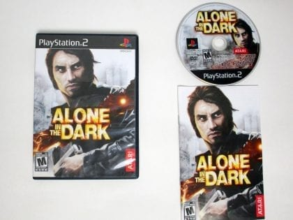 Alone in the Dark game for Sony Playstation 2 PS2 -Complete