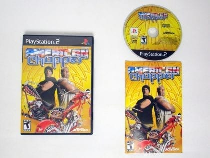 American Chopper game for Sony Playstation 2 PS2 -Complete