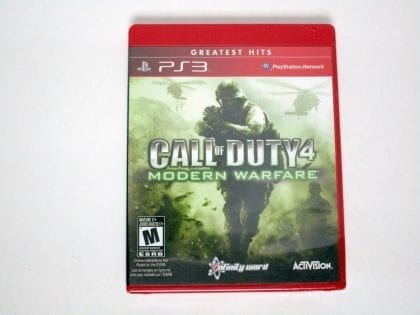 Call of Duty 4 Modern Warfare game for Sony Playstation 3 PS3 - New