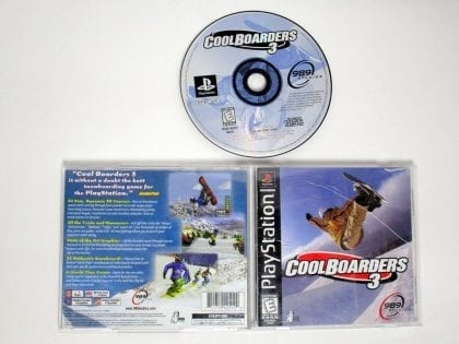 Cool Boarders 3 game for Sony Playstation PS1 PSX -Complete