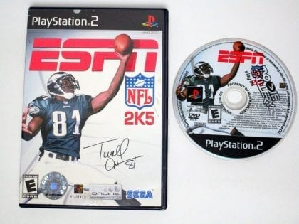 ESPN Football 2005 game for Sony Playstation 2 PS2 -Game & Case
