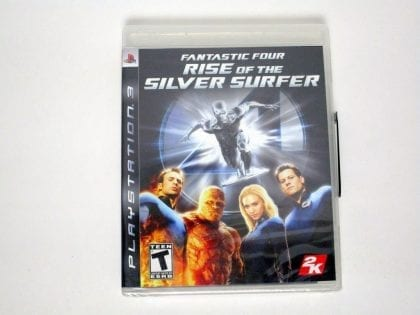 Fantastic 4 Rise of the Silver Surfer game for Sony Playstation 3 PS3 - New