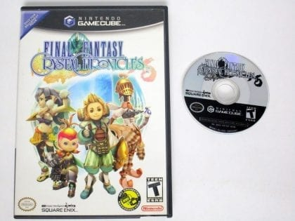 Final Fantasy Crystal Chronicles game for Nintendo Gamecube -Game & Case
