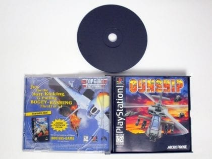 Gunship game for Playstation (Complete) | The Game Guy