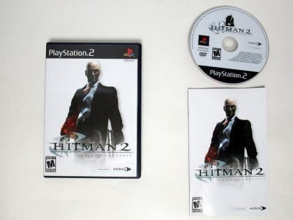 Hitman 2 game for Sony Playstation 2 PS2 -Complete