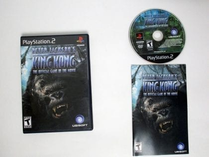 King Kong the Movie game for Sony Playstation 2 PS2 -Complete
