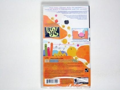 LocoRoco game for Sony PSP - New