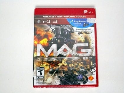MAG game for Sony Playstation 3 PS3 - New