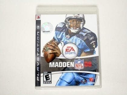 Madden 2008 game for Sony Playstation 3 PS3 - New