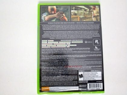Max Payne 3 game for Xbox 360 (New) | The Game Guy
