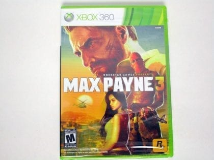 Max Payne 3 game for Microsoft Xbox 360 - New