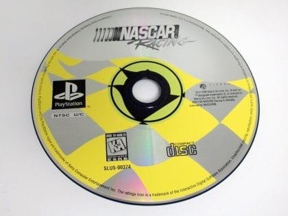 NASCAR Racing game for Sony Playstation PS1 PSX - Loose