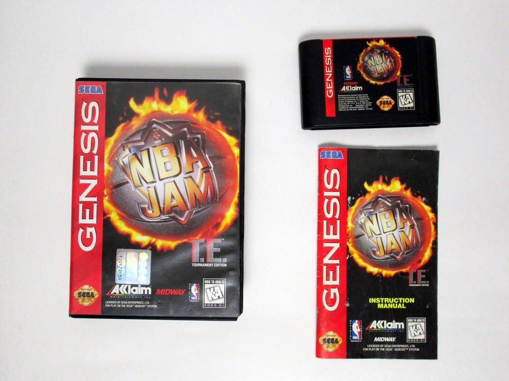 Nba Jam Tournament Edition Game For Sega Genesis Complete