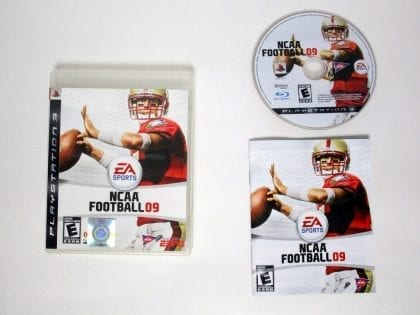 NCAA Football 09 game for Sony Playstation 3 PS3 -Complete