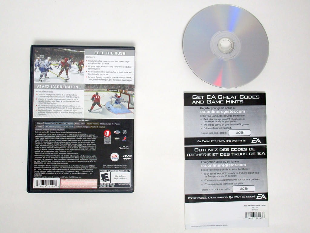NHL 09 game for Playstation 2 (Complete) | The Game Guy