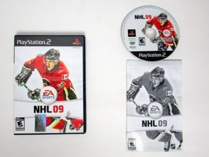 NHL 09 game for Sony Playstation 2 PS2 -Complete