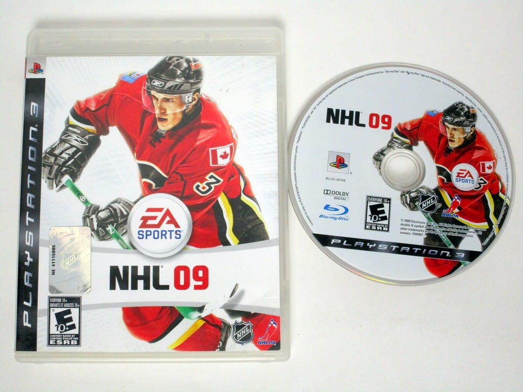 NHL 09 game for Sony Playstation 3 PS3 -Game & Case