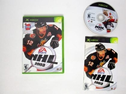 NHL 2003 game for Microsoft Xbox -Complete