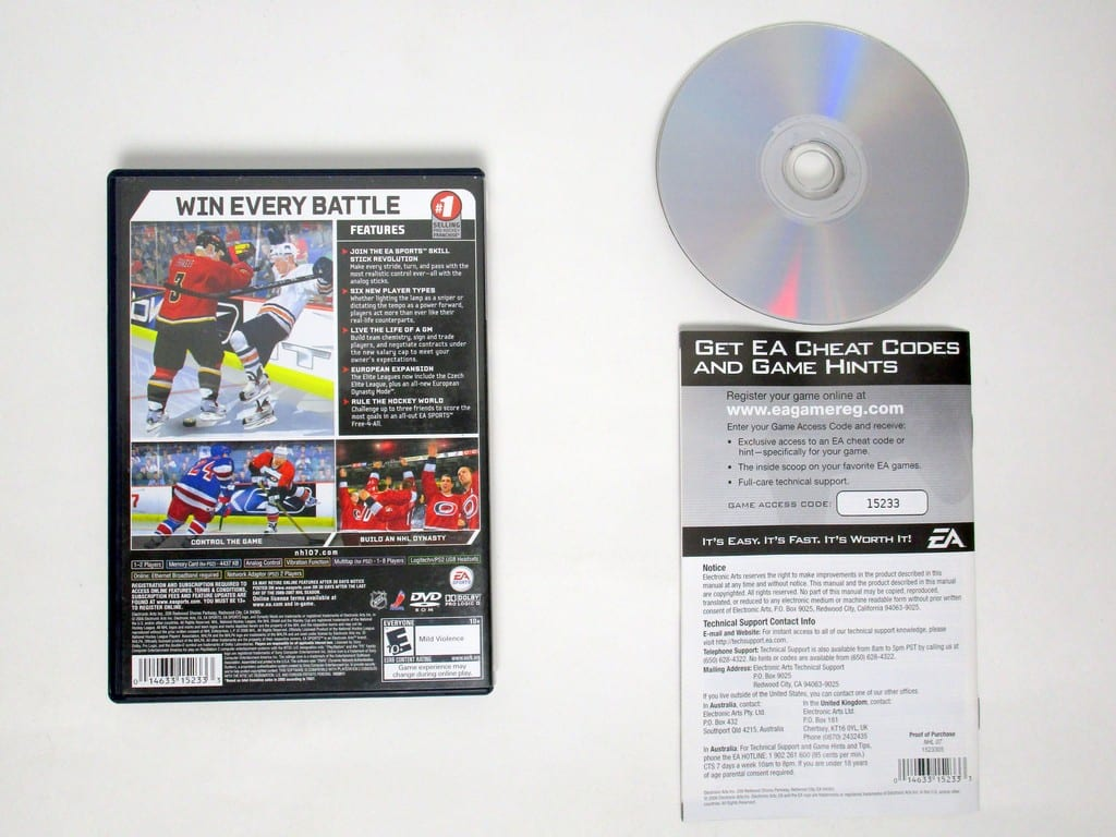 NHL 2007 game for Playstation 2 (Complete) | The Game Guy