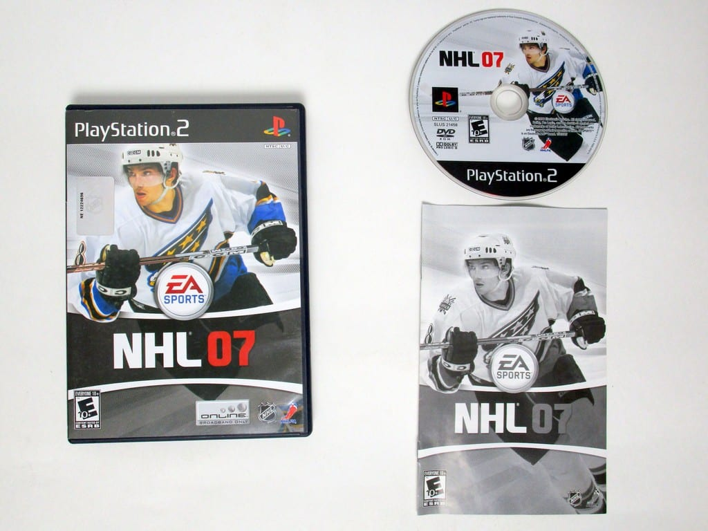 NHL 2007 game for Sony Playstation 2 PS2 -Complete