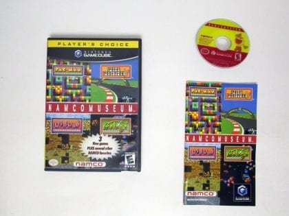 Namco Museum game for Nintendo Gamecube -Complete