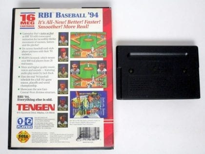 RBI Baseball 94 game for Sega Genesis | The Game Guy
