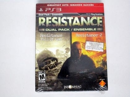 Resistance Greatest Hits Dual Pack game for Sony Playstation 3 PS3 - New