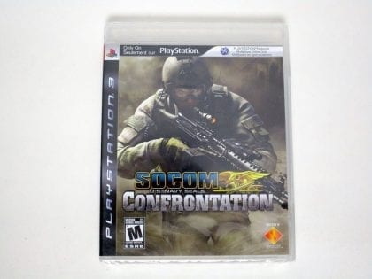 SOCOM Confrontation game for Sony Playstation 3 PS3 - New