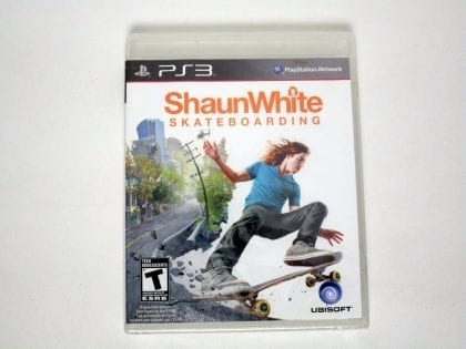 Shaun White Skateboarding game for Sony Playstation 3 PS3 - New