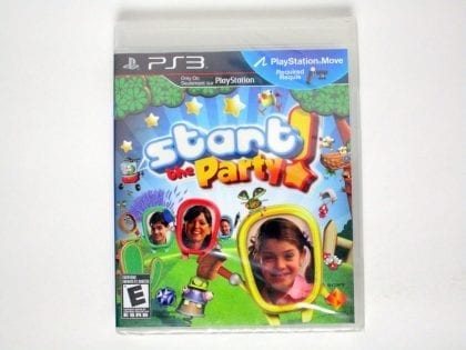 Start the Party game for Sony Playstation 3 PS3 - New
