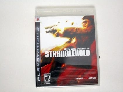 Stranglehold game for Sony Playstation 3 PS3 - New