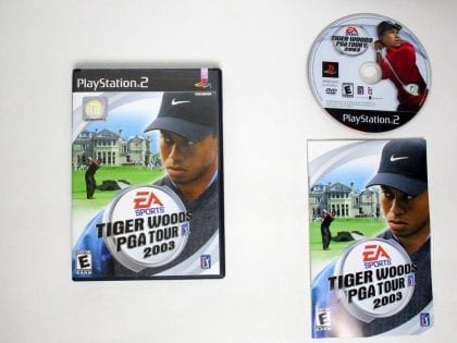 Tiger Woods 2003 game for Sony Playstation 2 PS2 -Complete