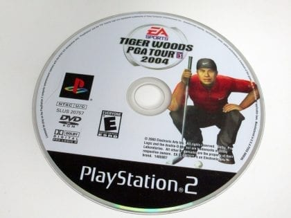 Tiger Woods 2004 game for Sony Playstation 2 PS2 - Loose