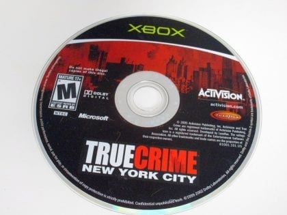 True Crimes New York City game for Microsoft Xbox - Loose