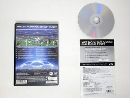 UEFA Champions League 2006-2007 game for Playstation 2 (Complete) | The Game Guy