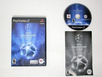 UEFA Champions League 2006-2007 game for Sony Playstation 2 PS2 -Complete