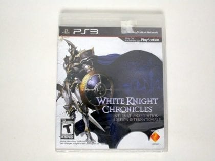 White Knight Chronicles International Edition game for PS3 - New