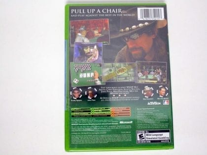 World Series of Poker game for Xbox (New) | The Game Guy