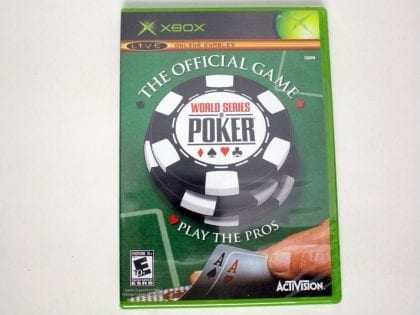 World Series of Poker game for Microsoft Xbox - New