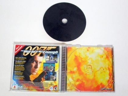 007 Racing game for Playstation (Complete)   The Game Guy