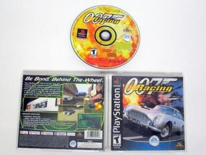 007 Racing game for Sony Playstation PS1 PSX -Complete