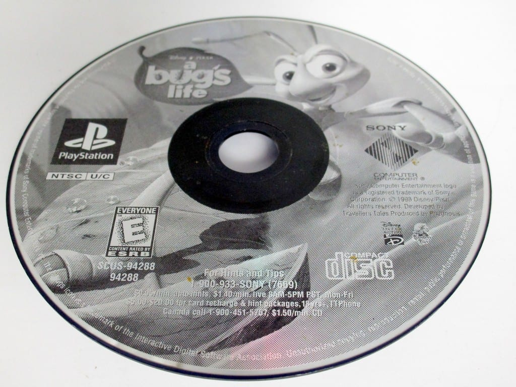 A Bug's Life game for Sony Playstation PS1 PSX - Loose
