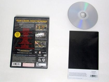 AC/DC Live Rock Band Track Pack game for Playstation 2 (Complete)   The Game Guy