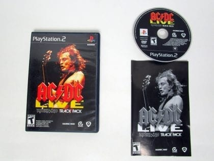 AC/DC Live Rock Band Track Pack game for Sony Playstation 2 PS2 -Complete