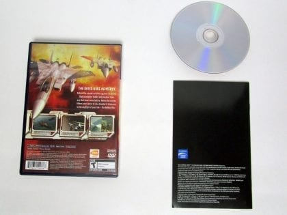 Ace Combat Zero game for Playstation 2 (Complete)   The Game Guy