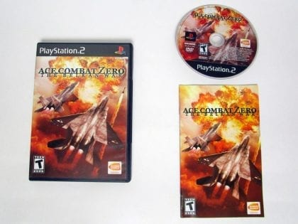 Ace Combat Zero game for Sony Playstation 2 PS2 -Complete